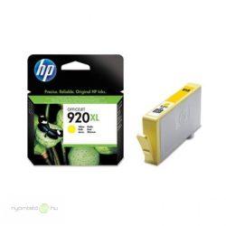 Hp 920XL/CD974AE tintapatron yellow ORIGINAL Leértékelt