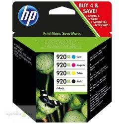 Hp 920XL/D8J47AE tintapatron multipack ORIGINAL Leértékelt