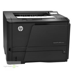 HP LaserJet Pro 400 M401dne mono lézernyomtató, felújított, hálózatos, duplexes