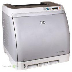 HP Color LaserJet 2600n színes lézernyomtató, felújított, hálózatos