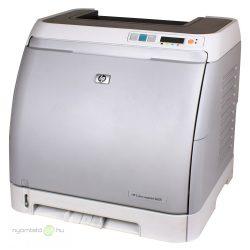 HP Color LaserJet 2605 színes lézernyomtató, felújított