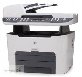 HP LaserJet 3390 MFP mono multifunkciós lézernyomtató, felújított, hálózatos