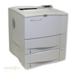 HP LaserJet 4000n mono lézernyomtató, felújított