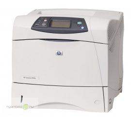 HP LaserJet 4350dn mono lézernyomtató, felújított, hálózatos, duplexes