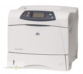 HP LaserJet 4350n mono lézernyomtató, felújított, hálózatos