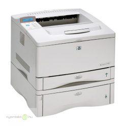 HP LaserJet 5100dtn mono lézernyomtató, felújított, hálózatos, duplexes, plusz laptálca