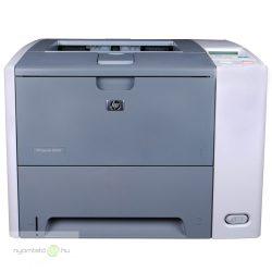 HP LaserJet P3005 mono lézernyomtató, felújított