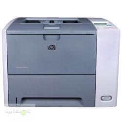 HP LaserJet P3005dn mono lézernyomtató, felújított, hálózatos, duplexes